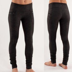 Lululemon Insight Pants Black Denim slub
